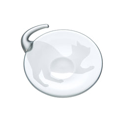 CODA CAT PLATE (LATERAL) - Plate Clear, 5.1inch