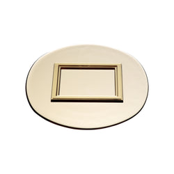 DECORAR – Plate Tan, 10.6inch