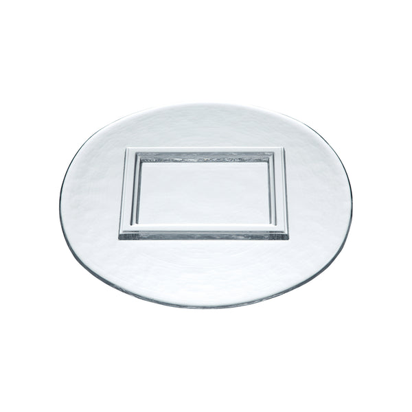 DECORAR - Plate Clear, 10.6inch
