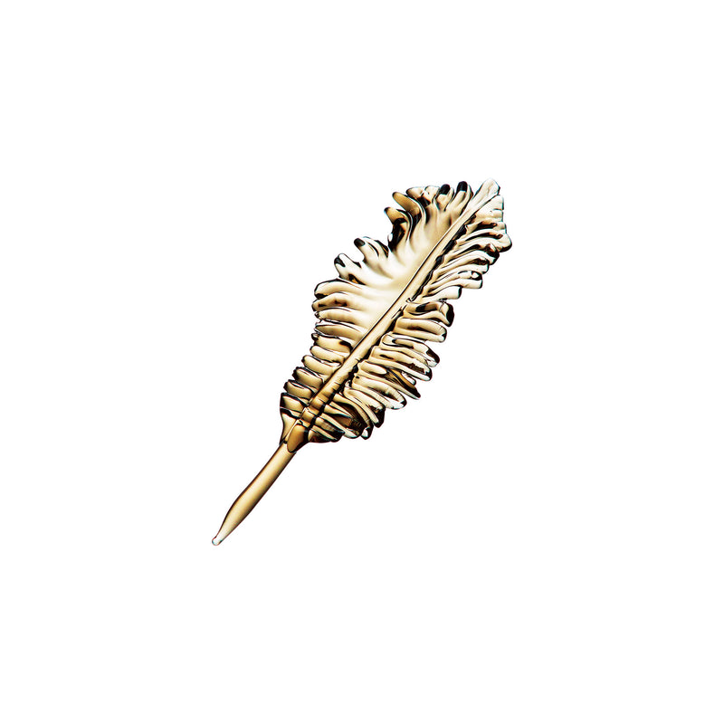 ORNAMENT - Feather Tan, 4.7inch