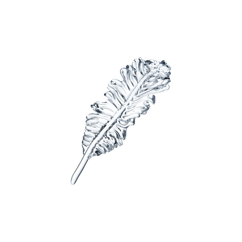 ORNAMENT - Feather Clear, 4.7inch