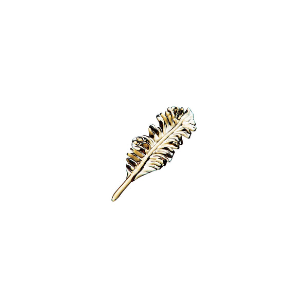 ORNAMENT - Feather Tan, 3.5inch