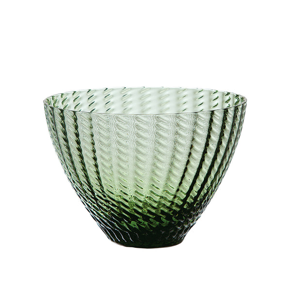 JAVABLEUE – Bowl Forest Green, 4.3inch