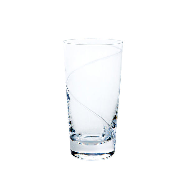 Kirameki Glass (1 Line), Tall - Clear, 7.1oz