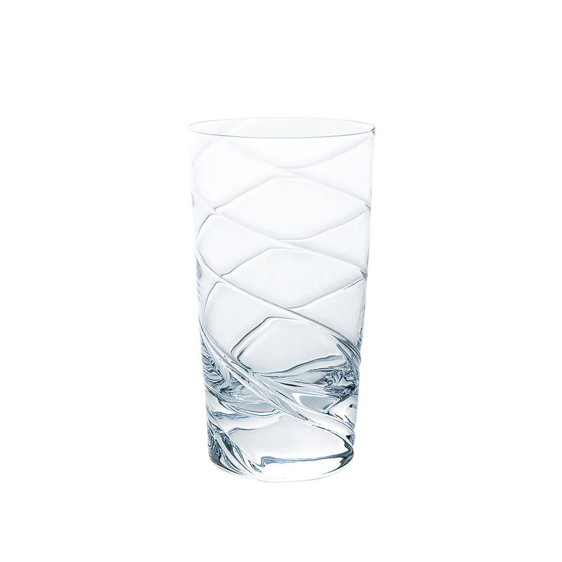 Kirameki Glass (3 Lines), Tall - Clear, 7.1oz