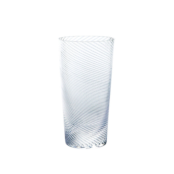Kirameki Glass (Twist), Tall - Clear, 7.1oz