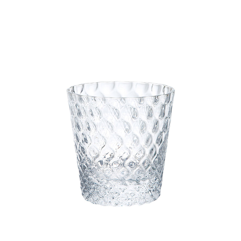 Kirameki Glass (Grid) - Clear, 4.7oz