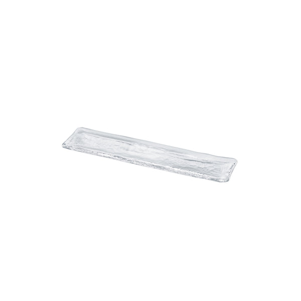 LONG ASSIETTE - Plate Clear, 15.7inch