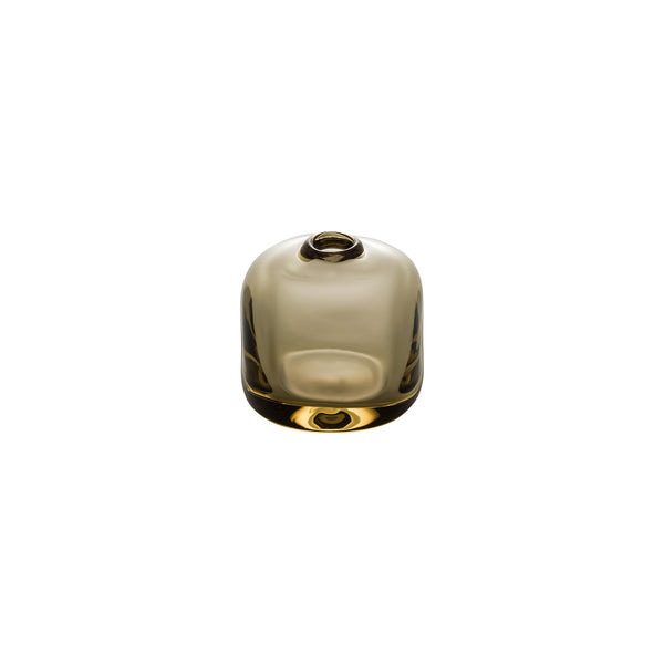 MINI VASE - Cube Riverstone Vase, Tan