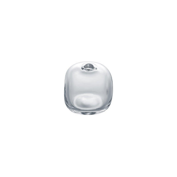 MINI VASE - Cube Riverstone Vase, Clear