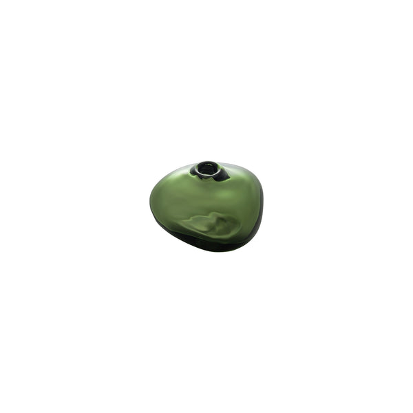 MINI VASE - Riverstone Bud Vase, Forest Green