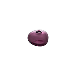 MINI VASE - Riverstone Bud Vase, Wine Red