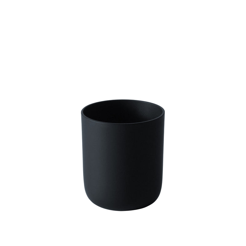 BLACK & WHITE - Sake Cup Matte Black, 2.4oz