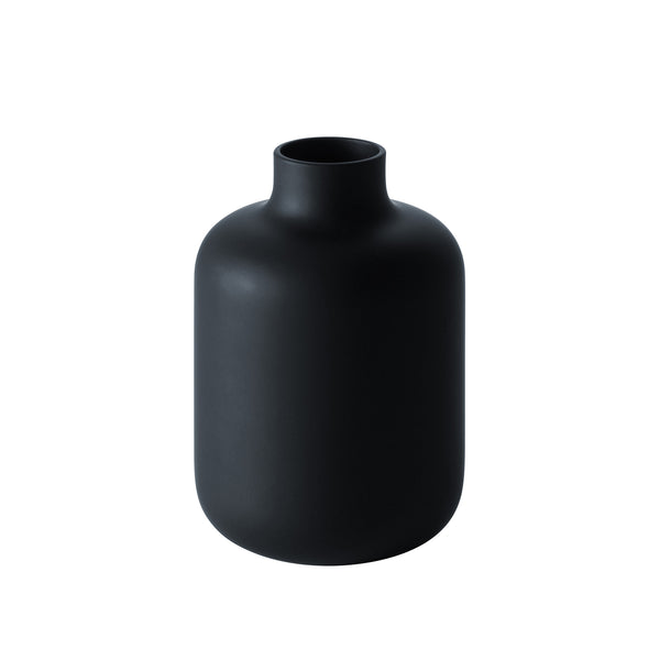 BLACK & WHITE - Sake Bottle Matte Black, 10.1oz
