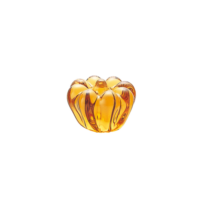 ORNAMENT - Pumpkin Amber, 2.6inch