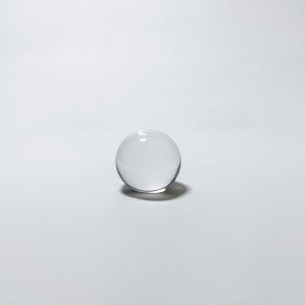 PAPER WEIGHT - Ball Clear, 1.8inch