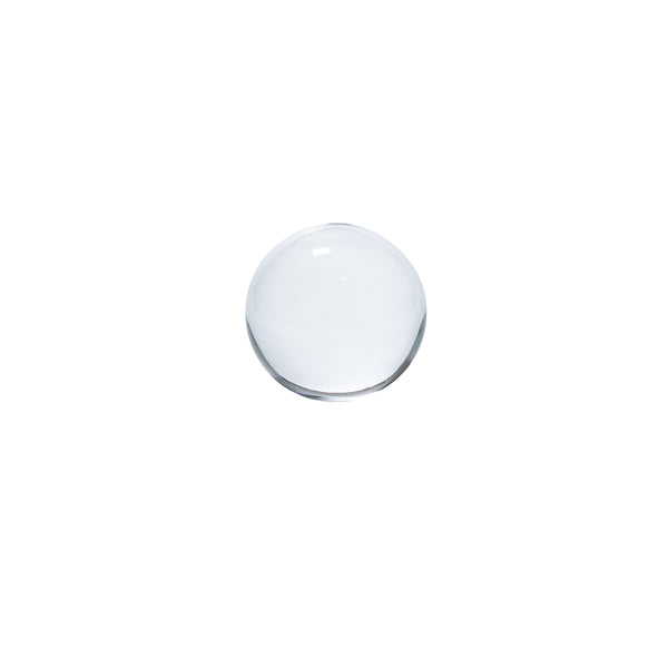PAPER WEIGHT - Ball Clear, 2.4inch