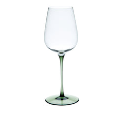 RISICARE - Wine Glass Forest Green, 12.8oz