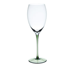 RISICARE - Wine Glass Forest Green, 15.9oz