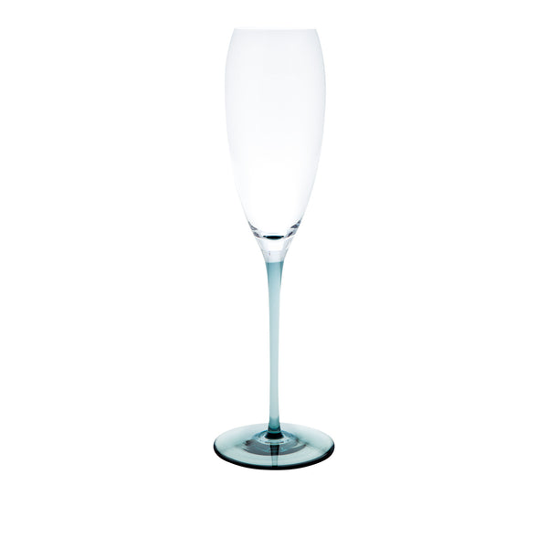 RISICARE - Champagne Glass Indigo, 6.1oz