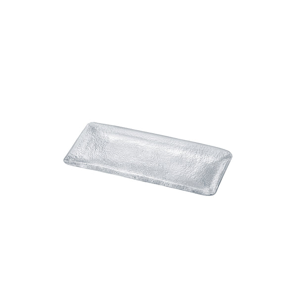 SUKIYA - Rectangular Plate Clear, 9.4inch