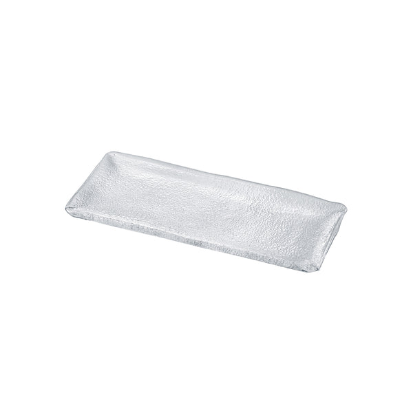 SUKIYA - Rectangular Plate Clear, 11.8inch