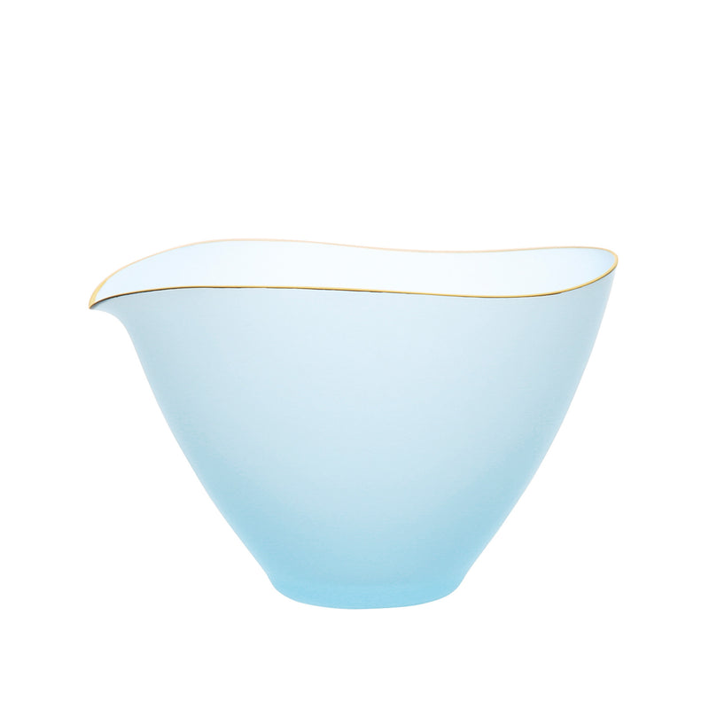 SAKI - Bowl Blue Frosted, 4.4inch