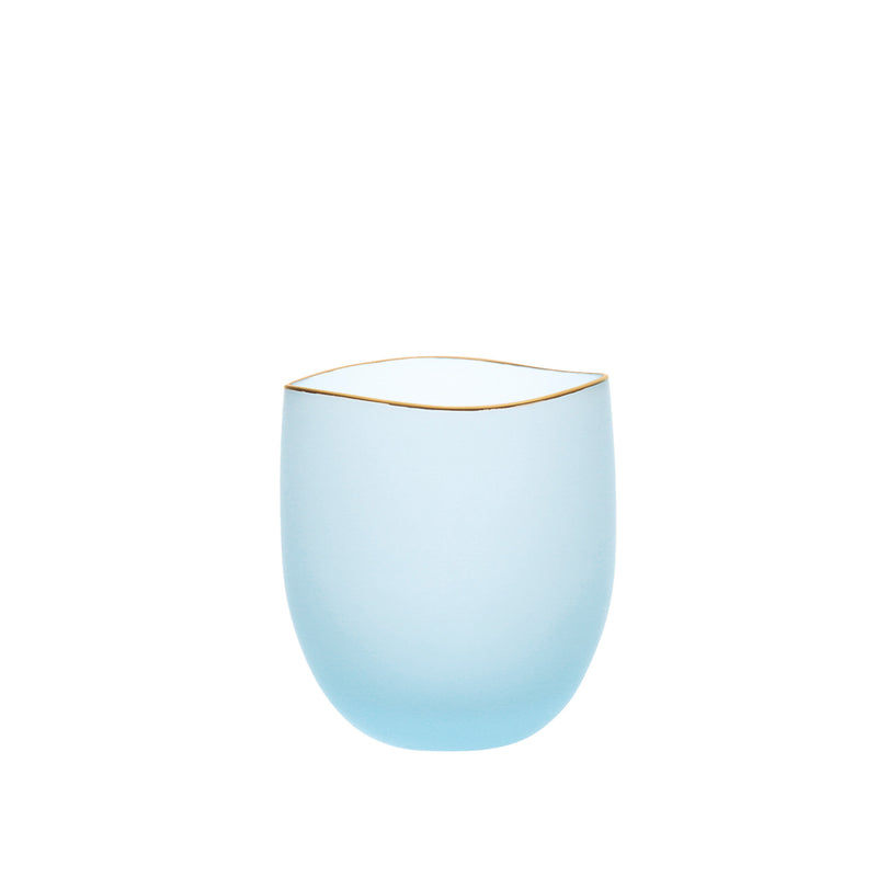SAKI - Bowl Blue Frosted, 2.0inch