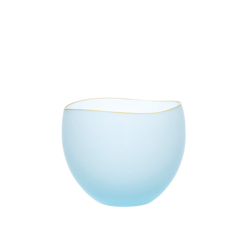 SAKI - Bowl Blue Frosted, 3.0inch