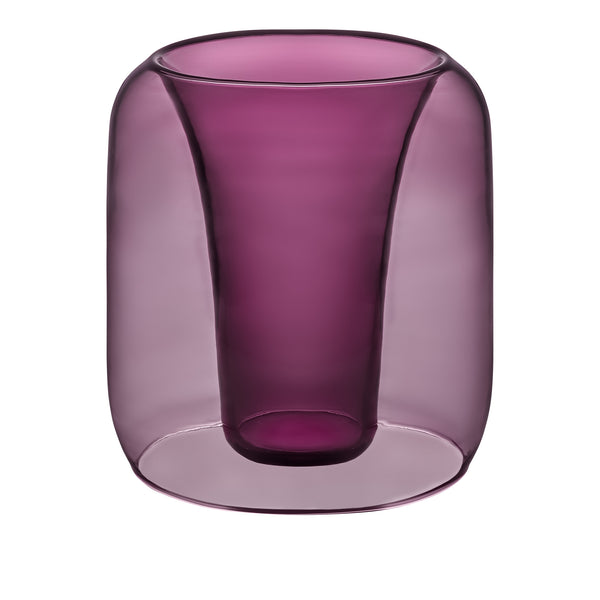 EXPONENTIAL - Glass Speaker Wine Red