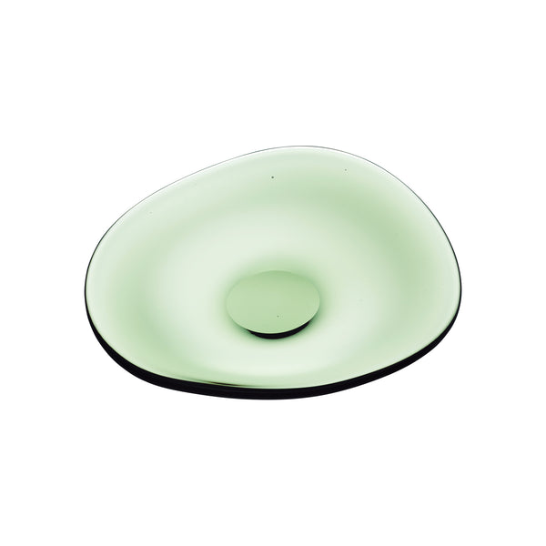 TUTTI - Plate Forest Green, 9.4inch
