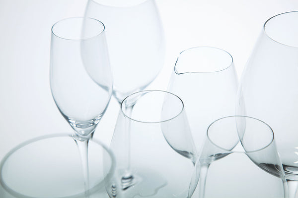 TSUBOMI - White Wine Glass Clear, 12.5oz