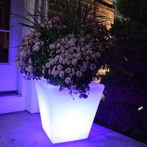 Fiji- LED planter/ice bucket, square