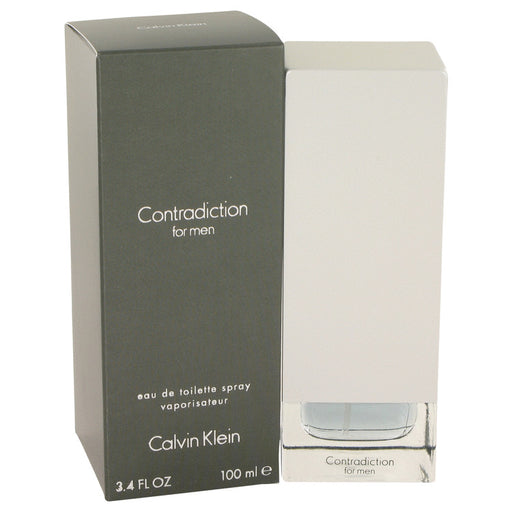 Contradiction Cologne by Calvin Klein, 3.4 oz Eau De Toilette Spray