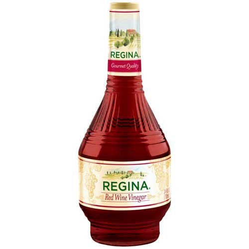 REGINA, WINE VINEGAR RED, 24 OZ, (Pack of 6)