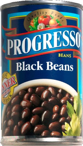 Progresso, Bean Black Turtle, 15 Oz, (Pack Of 12)