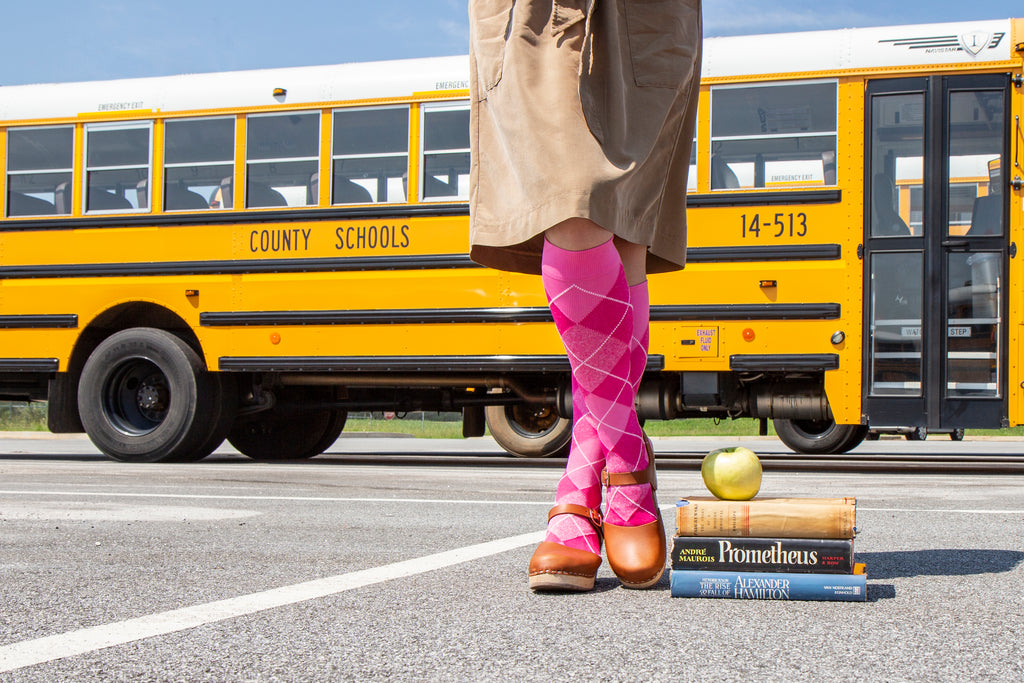 Walk a mile in my socks - a teacher's perspective on compression socks