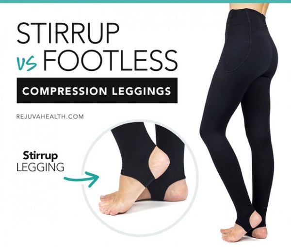cb7d77f5e4 Footless Compression Leggings: Fashion vs. Medical, Key Features ...