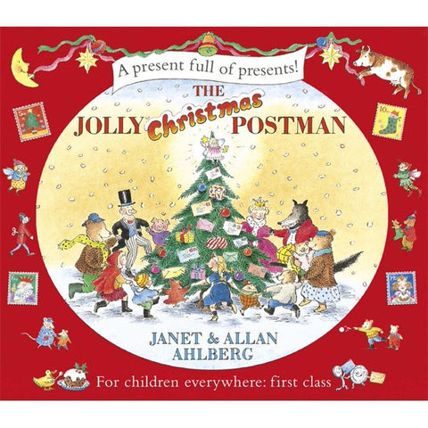 holly jolly postman book