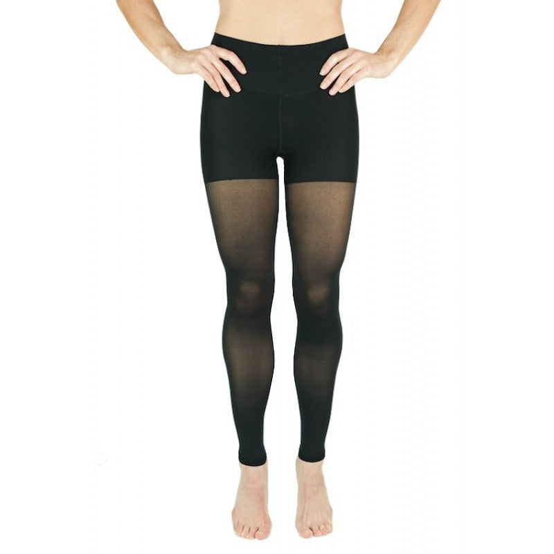 RejuvaWear® Sheer Convertible Legging, Front View