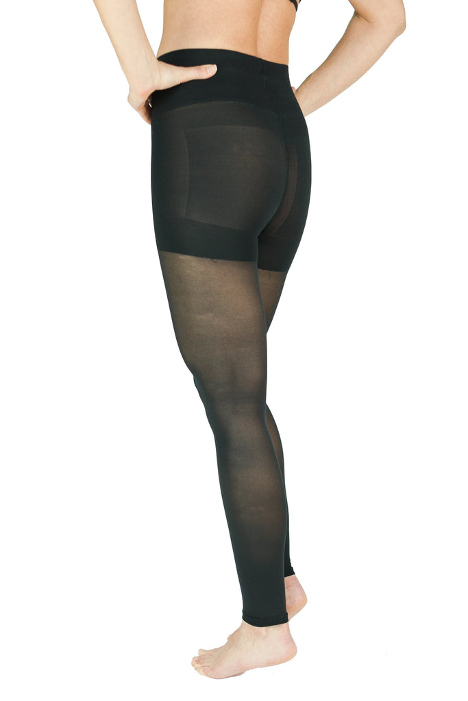 RejuvaWear® Sheer Convertible Legging, Back View
