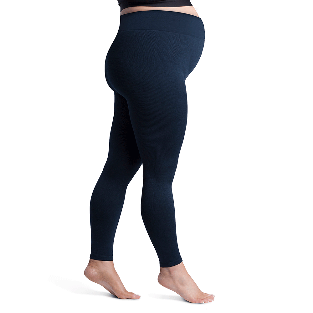Sigvaris Soft Silhouette Maternity Leggings, Midnight Blue