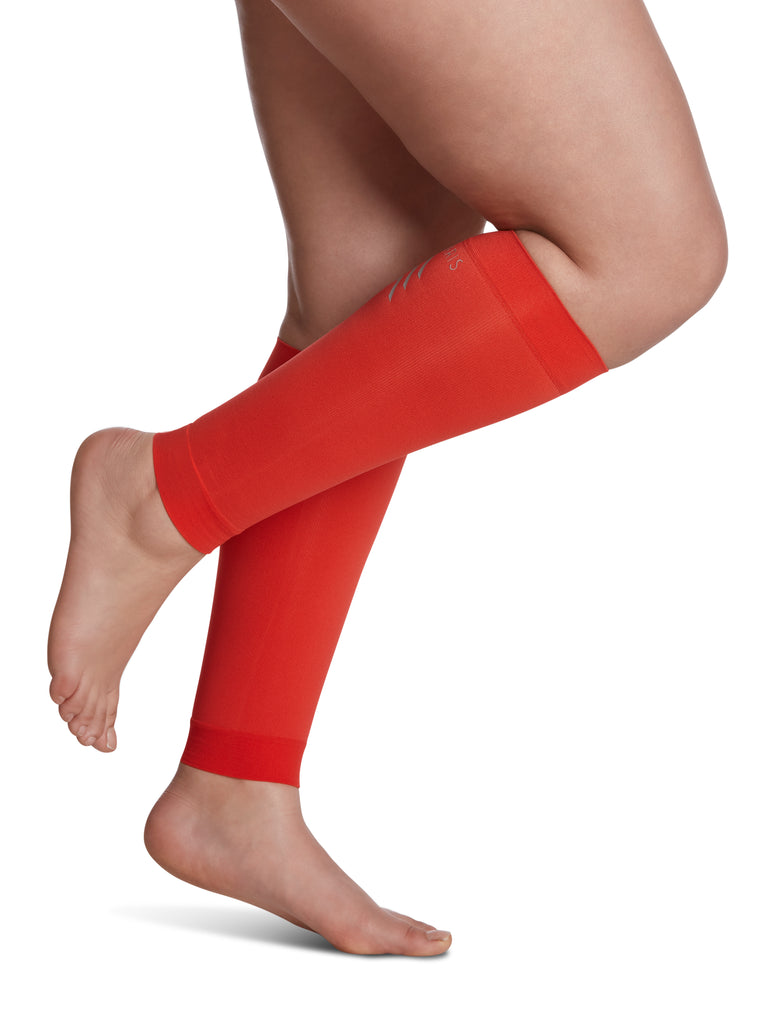 Sigvaris Athletic Performance Sleeves, Blood Orange
