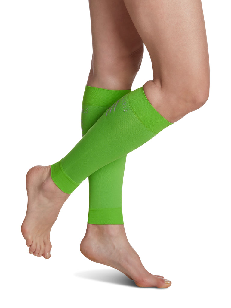 Sigvaris Athletic Performance Sleeves, Lime Green