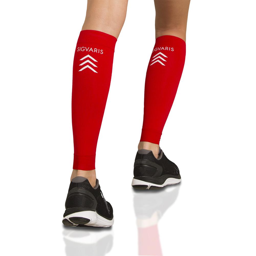 Sigvaris Athletic Performance Sleeves, Red
