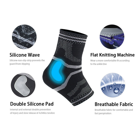 Image of Anti Sprain Ankle Support Brace