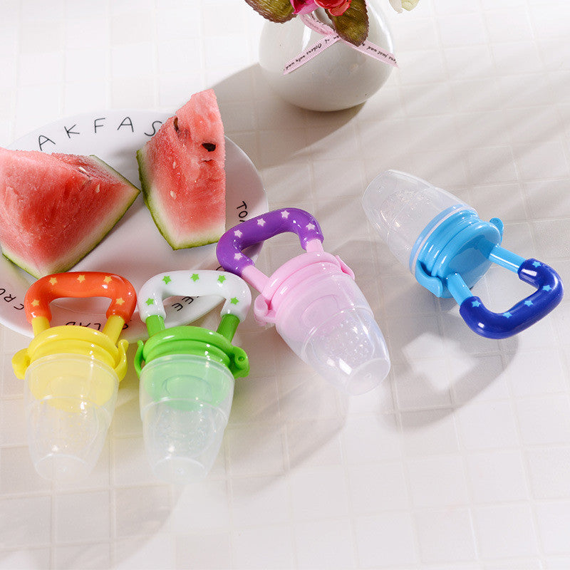 Kid's Teether Nipple Fruit Food Mordedor