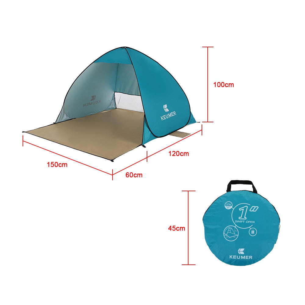Outdoor Beach Tent-Automatic Pop-up
