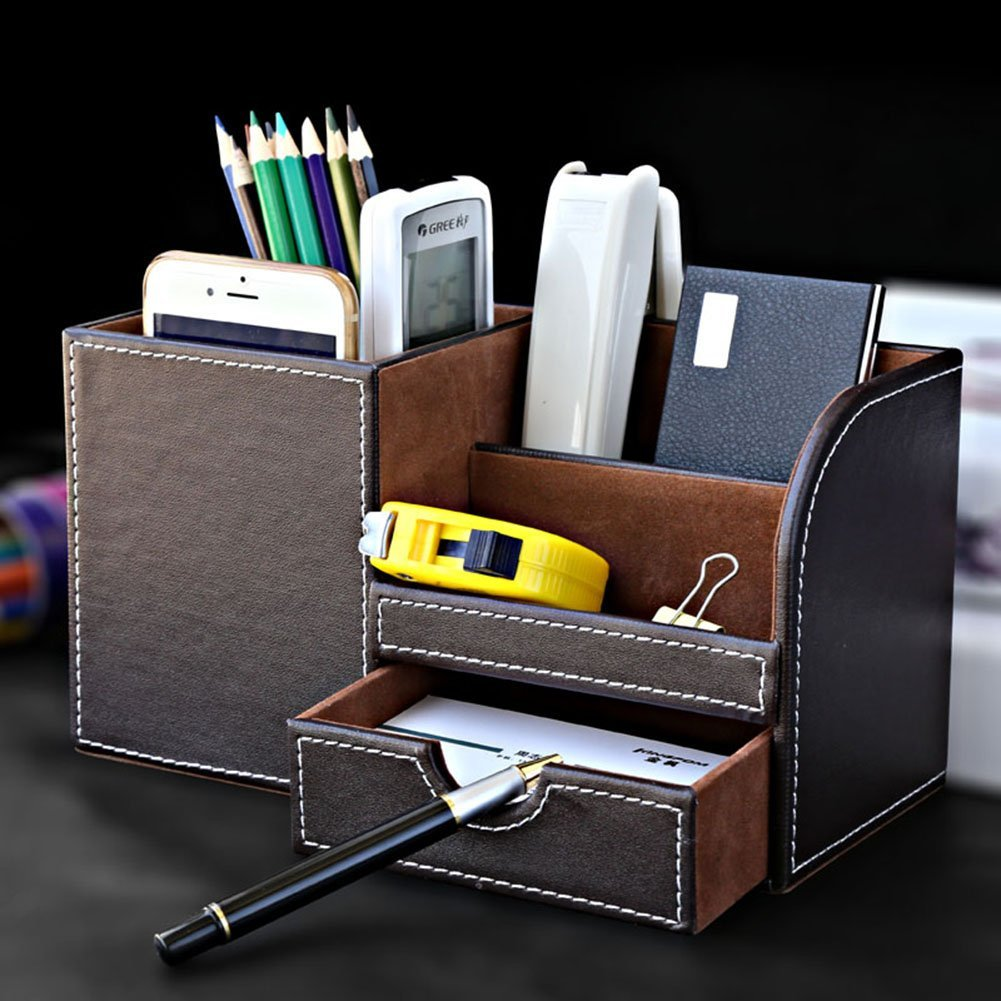 Multi-function Desk Stationery Organizer