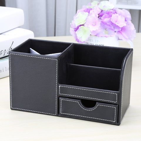 Image of Multi-function Desk Stationery Organizer